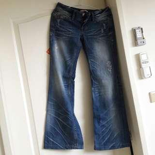 Someone Jeans 寬褲 牛仔褲
