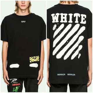 t shirt off white news