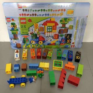 Preloved Lego Duplo 5497 Play with Numbers