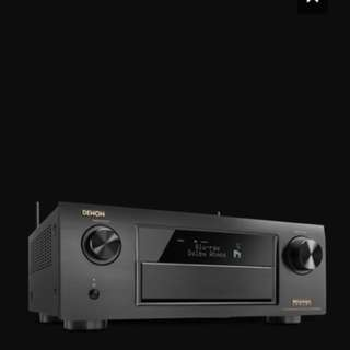 Denon AVR-X6200W Dolby ATMOS Flag Ship Home Cinema Reciever
