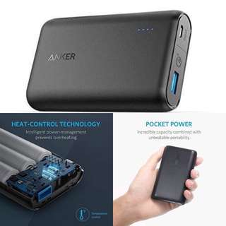 Anker Powercore speed 10000mAh quick charge 3.0 powerbank