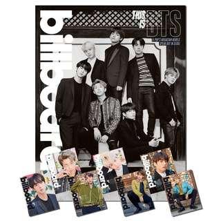 BTS BILLBOARD MAGAZINE - INCOMING READYSTOCK