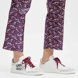 Isabel Marant Bryce street tag sneakers
