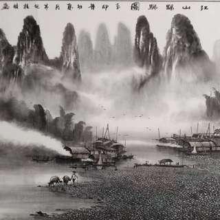 Chinese Art Painting 名家字画,山水画,花鸟画,中国画,收藏,投资,增值。