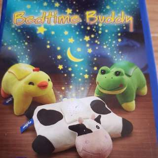 Bedtime night light soft toy