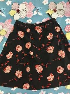 Flower skirt (FREE ongkir Jabodetabek)