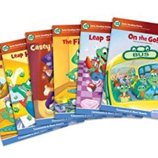 Leap frog books - learn to read 1 set of 6 books (no box)