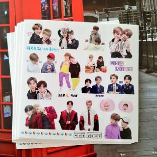 Kang Daniel & Ha Sungwoon Sticker