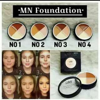 MN Foundation Concouler/Me Now For Shading Countouring Corrector