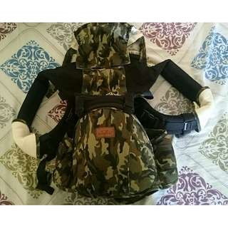 Baby Hipseat + Carrier Camouflage color