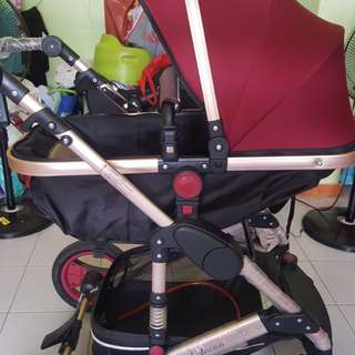 Belecoo air Tyress Stroller pram 2017 new model