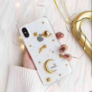 Moon & Stars Case 3D (Iph only)