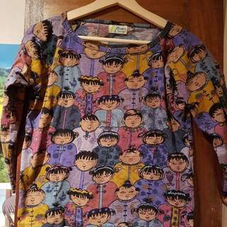 Asian Graphic shirt