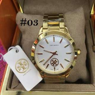 TORY BURCH HIGH-END SWISS MADE WATCHES ,,,,,