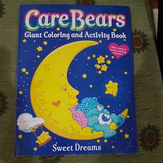 Care bear coloring book