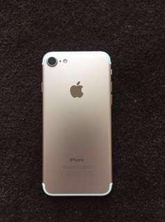 Globe locked Iphone7 32gb Rosegold