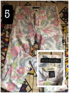 Billabong Floral Pants