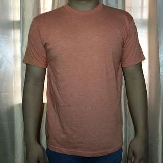 H&M Orange Plain Shirt