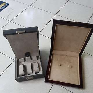 Box for watch & necklace/earrings