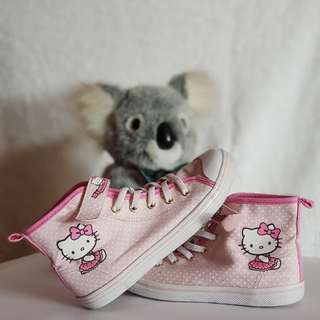 Hello Kitty Hi-Top shoes (H&M)
