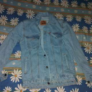 jaket jeans lev'is biowash
