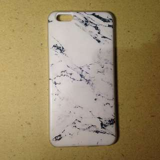 White marble softcase iphone 6plus