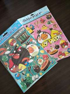 Free Angry Birds Stickers