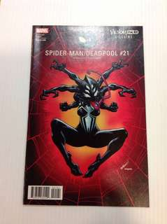 Spiderman/Deadpool 18 Venomvized Villains Variant