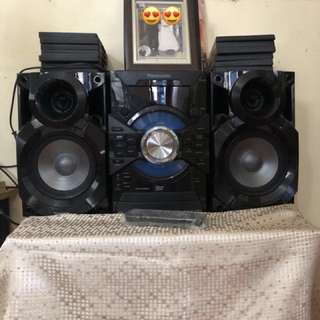 Panasonic Speaker System model SC-VKX25 Powerful and clear sound