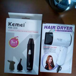 hygienic clipper for nose & hair trimmer