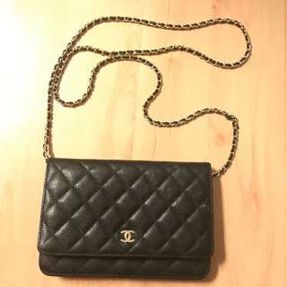 Chanel Wallet on Chain GHW non-authentic