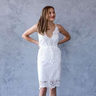 Gisele Dress (White)
