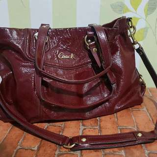 Coach Cherry Red Bag *Repriced