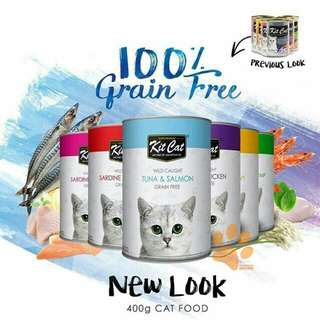 Kit Cat Grain Free Catfood