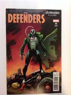 Defenders 5 Venomized Villains Variant