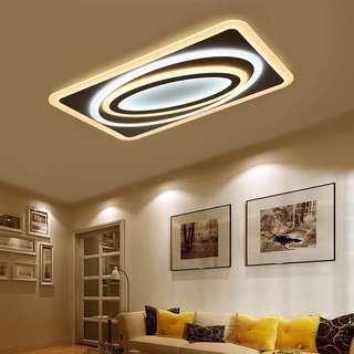 新款超薄客廳吸頂燈LED燈