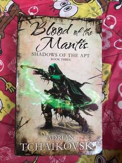 Blood of the Mantis ( shadow of the apt) book 3