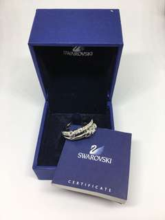 Swarovski crystal Set Ring