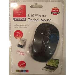 Mini Wireless Optical Mouse - Small & Ergonomic