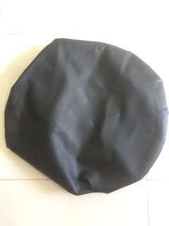 Used spare Tyre cover -can cover up to 17 inch Tyre