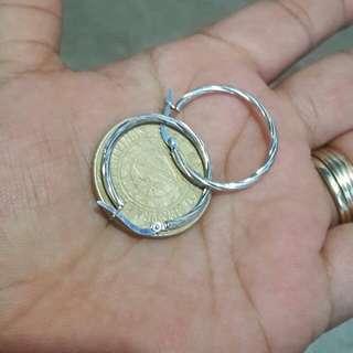 18k saudi white gold