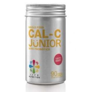 Life Nutrition WHOLE FOOD CAL-C JUNIOR WITH PROBIOTICS | BERRY FLAVOR