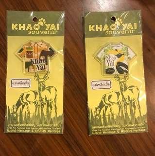 Thailand Khao Yai World Heritage Park Fridge / Whiteboard Magnet Souvenir