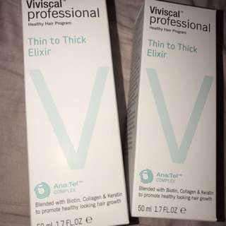 Viviscal thin to thick Elixir (hair growth )