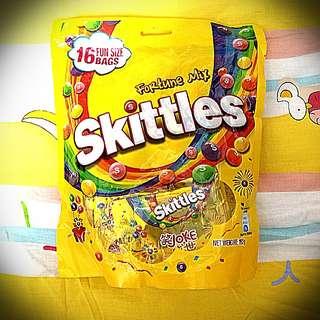 Skittles 五福彩虹糖 1袋16小包 192g