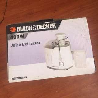 Black & Decker Juicer