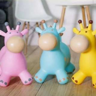 BN Bouncy Deer Hopper - Jumping Horse Playmates Toys Inflatable Ride-on Animal