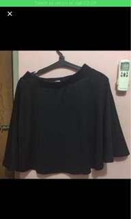 rok pendek hitam