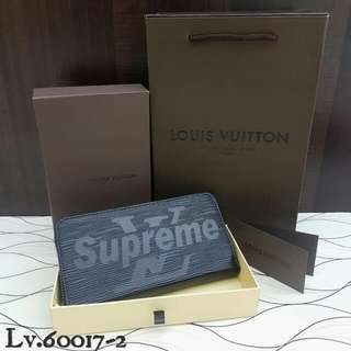 Louis Vuitton Wallet Supreme Black