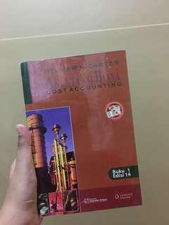 Akuntansi Biaya by Carter penerbit Salemba Empat
